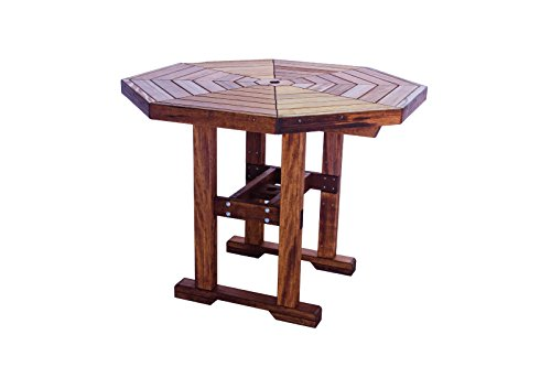 Octagon Patio Table - Quality Outdoor Bar Height Patio Octagon Table