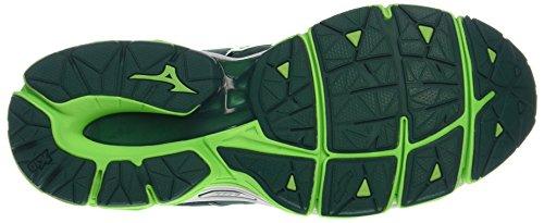 Wave De Mizuno Green Horizon Multicolore Running Chaussures Gecko Homme evergreen White 4qdawBd