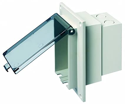 Arlington Dbvr1c 1 Low Profile In Box Electrical Box With