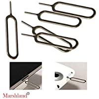 Marshland Sim Card Tray Pin Eject Removal Tool Needle(5pcs) Opener Ejector
