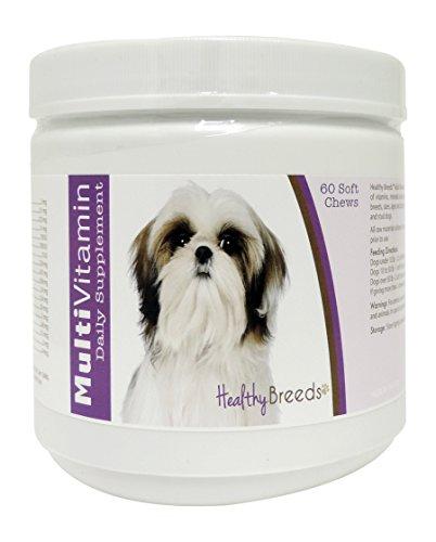Healthy Breeds Shih Tzu Multi-Vitamin Soft Chews 60Count