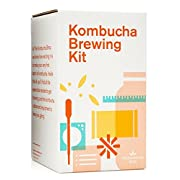The Kombucha Shop Kombucha Starter Kit - 1 Gallon Brewing Kit Includes Everything You Need To Brew Kombucha At Home