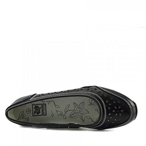 2 Kick Basse Nero Pelle Donna Footwear Womens Espadrillas Comode Scarpe Szwx1PqAS