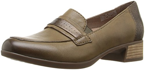 Lila Women's Loafer Dansko On Burnished Slip Nappa Taupe d5AIqq