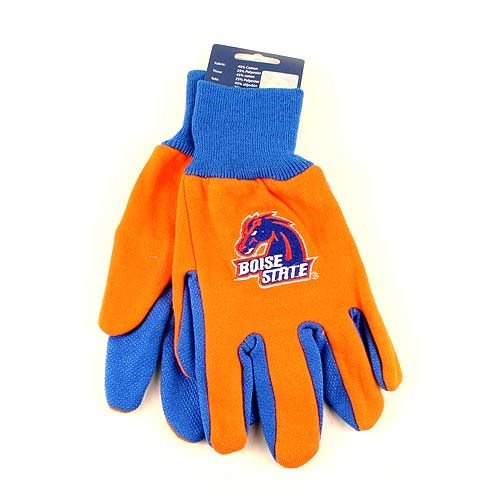 WinCraft NCAA Boise State Broncos Two-Tone Gloves, Orange/Blue ()