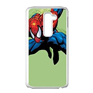 LG G2 Cell Phone Case White Spiderman Swinging GY9214736