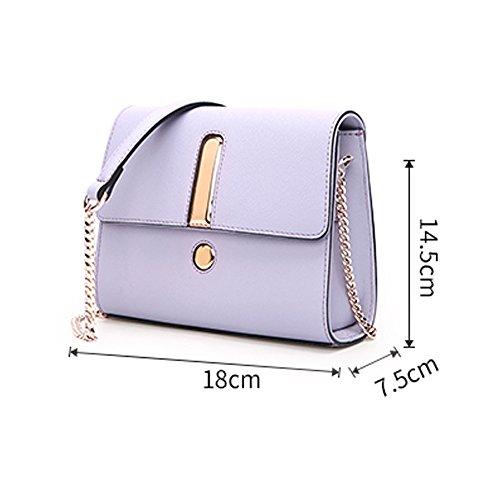 Cuero Mini de Bag Hombro Bag Wild de Nuevo Small Square Messenger Diagonal ZQ Simple Shoulder 2018 Bag Bag qAXwU8