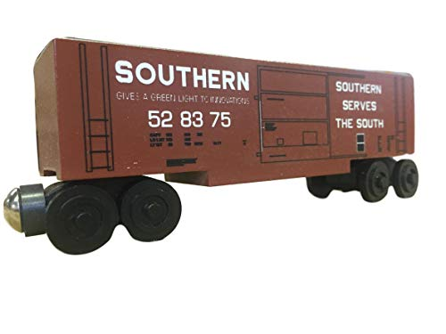 Whittle Boxcar - Whittle Shortline Railroad - Manufacturer Southern Railway Series 44 Boxcar - Wooden Toy Train