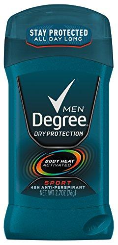 Degree Men sec protection antisudorifique et déodorant, Sport 2,7 onces, (pack de 6)