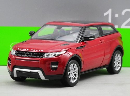 Range Rover Land Rover Evoque Red 1/24 by Welly (Red Range Rover)