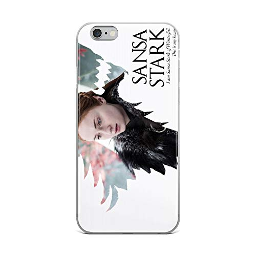 iPhone 6 Plus/6s Plus Case Anti-Scratch Television Show Transparent Cases Cover Sansa Stark of House Stark Tv Shows Series Crystal Clear