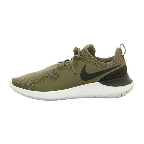 Nike Herren Freizeit-Schuh Te Sneaker Grün (Medium Olive/Black-w 200)