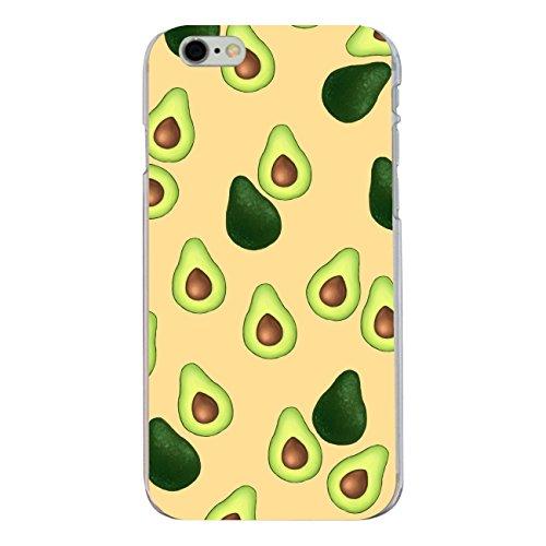 "Disagu SF-sdi-4337_1123#zub_cc6149 Design Schutzhülle für Apple iPhone 6S Plus - Motiv ""Avocados Muster orange"""
