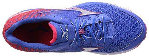Mizuno 2016 Ss Donna Wave Rider 19 Fuji Marathon Running Sneaker J1gd160301 Palazzo Blu
