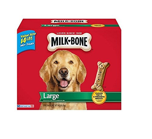 Milk-Bone Large Dog Biscuits, 14-Pound (Dog Bone Biscuit)