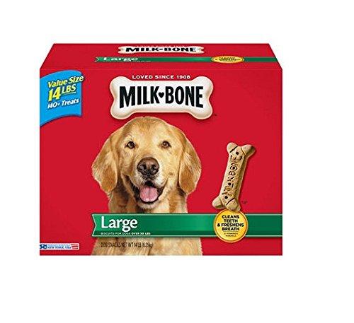 Milk-Bone Large Dog Biscuits, 14-Pound