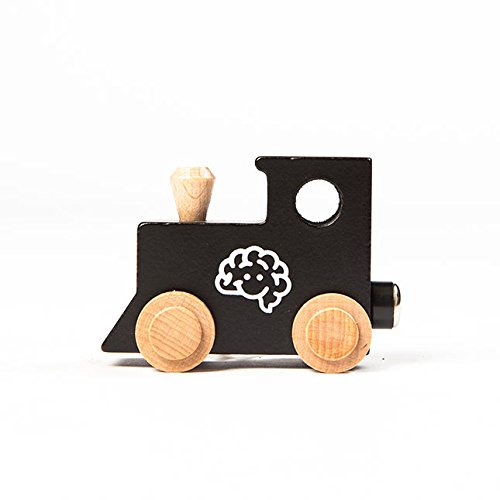 Fat Brain Toys Spell-Your-Name Alphabet Railroad - (Name Train 3 Letters)