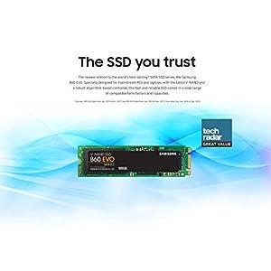 Samsung 860 EVO M.2 1TB SATA M.2 Internal SSD (MZ-N6E1T0BW) [Canada Version]