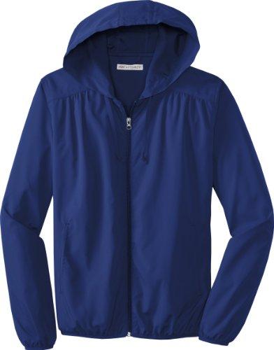 Port Authority - Ladies Hooded Essential Lightweight Windbreaker Jacket. L305