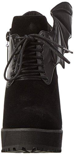 Iron Fist Damen Night Stalker Cleated Boot Kurzschaft Stiefel, Schwarz (Black), 38 EU
