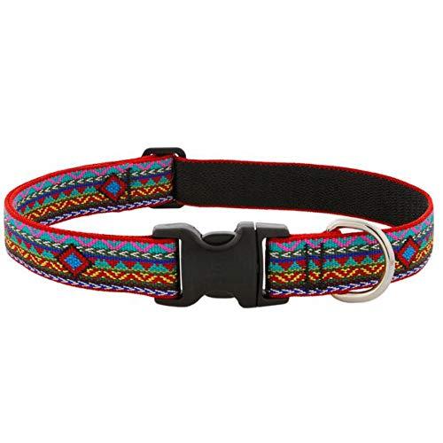Dog Lupine Collar Large - Lupine Dog Collar Adjustable Nylon El Paso 12-20-inch 1-inch Wide