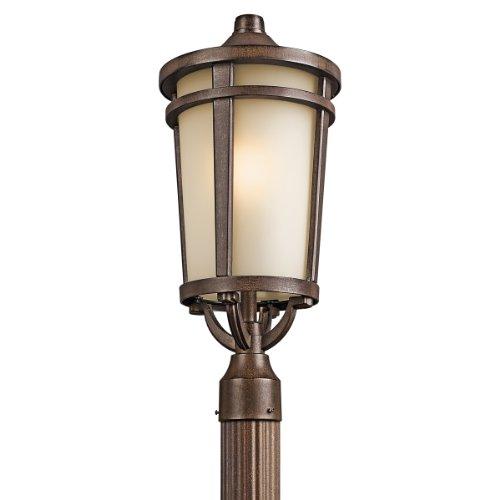 Kichler 49074BST One Light Outdoor Post Mount