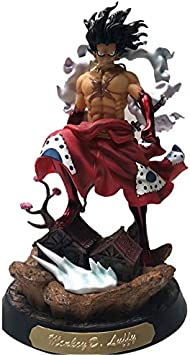 Amazon Com One Piece Monkey D Luffy Figure Wano Luffy