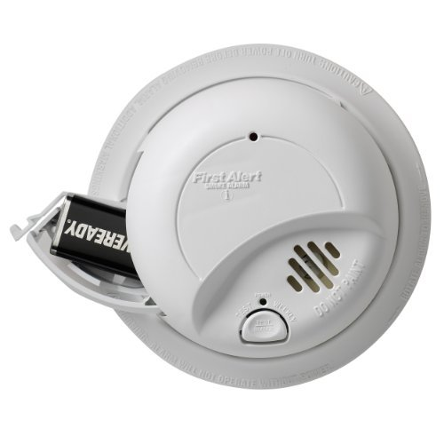First Alert Smoke & Fire Alarm, Hardwired with Battery Backu