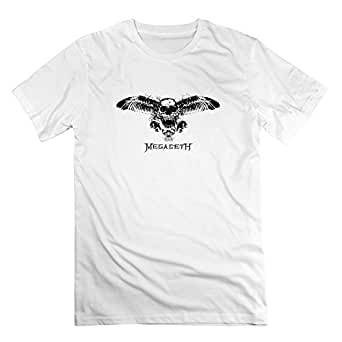 Cheap No Minimum Men's Megadeth Logo T-shirts X-Large