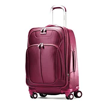 Samsonite Luggage Hyperspace Spinner 21.5 Expandable Suitcase, Ion Pink, 22