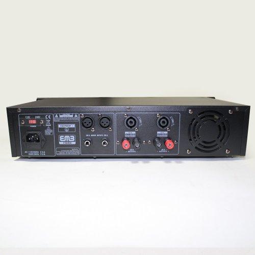 EMB Pro PA8400 Rack Mount Professional DJ Power Amplifier 4200W PA Band Club For HOME DJ KARAOKE ENTERTAINMENT