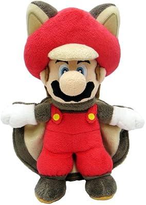 """Sanei Super Mario 9"""" Squirrel Musasabi Mario Plush Doll"""