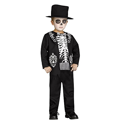 [Skeleton King Toddler Costume] (King Toddler Costume)