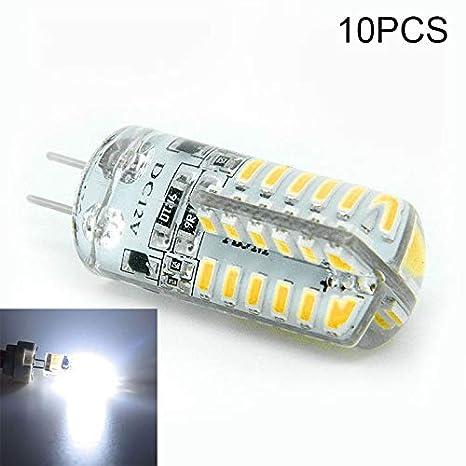 symboat 10pcs G4 5 W LED bombilla de maíz ligero DC12 V lámpara économiseuse de energía de decoración de casa: Amazon.es: Bricolaje y herramientas