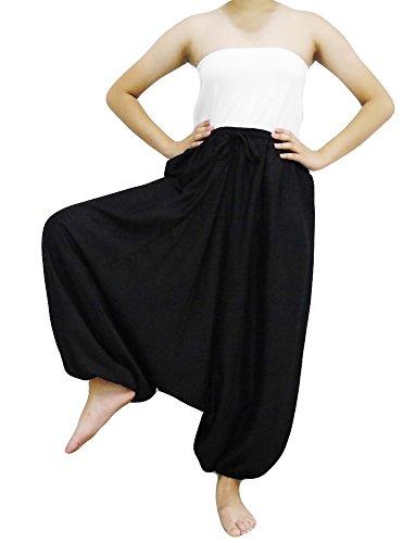 Black Harem Pants - 8