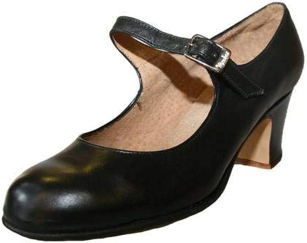 Menkes Zapato Flamenco Mujer Piel con Clavos