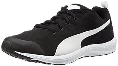 PUMA Women's Evader Xt V2 Ft WNS, Black- White,6 Running Shoes
