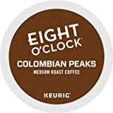 Eight O Clock Coffee Colombian Peaks, Keurig K-cup Pods, Medium Roast Coffee, 96 Count