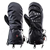 Heat 3 Gloves Layer System Shell Smart Full Leather/Black / Size 8