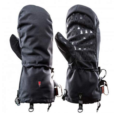 Heat 3 Gloves Layer System Shell Smart Full Leather/Black / Size 8 by The Heat Company (Image #4)