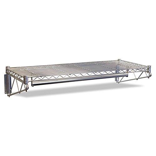 Review Alera WS4818SR Steel Wire Wall Shelf Rack, 48w x 18-1/2d By Alera by Alera