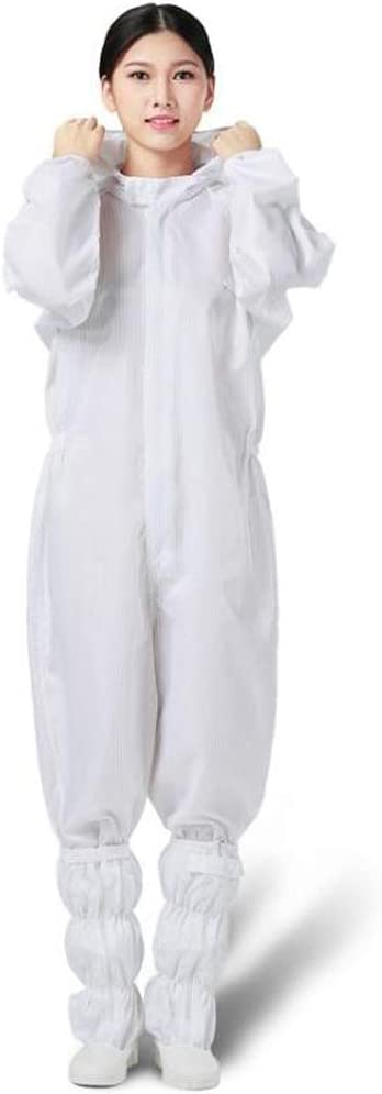No Shoes 3 Items TX Cleanness Clothing Medical Working Wear Anti-Static Split Suit