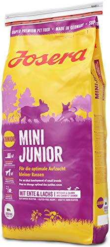 JOSERA MiniJunior (1 x 15 kg)   Welpenfutter für kleine Rassen   für eine optimale Entwicklung   Super Premium…
