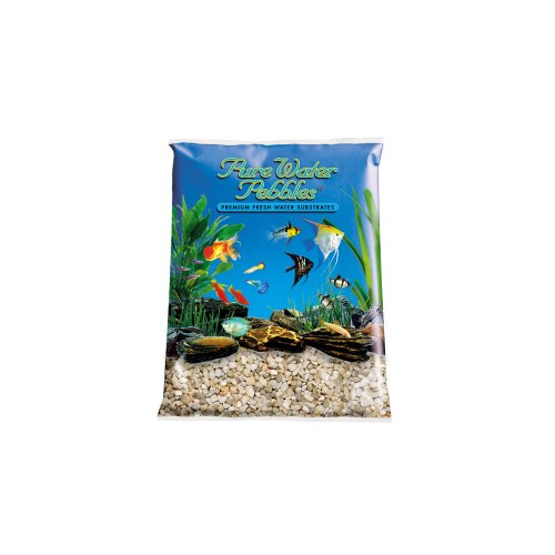 Pure Water Pebbles Aquarium Gravel, 2-Pound, Carolina (Creek Pebbles)