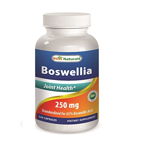 Best Naturals Boswellia 250 mg 120 Capsules – Standardized to 65% Boswellic acid For Sale