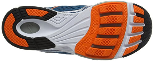 Newton Running Men's Motion Vi Shoe, Zapatillas de Running Hombre Azul (Slate/orange)