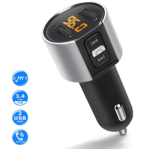 ZEEPORTE Bluetooth FM Transmitter for Car