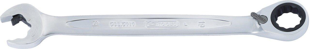 9mm KS Tools 503.5909 Cl/ès mixte /à cliquet Duo Gear