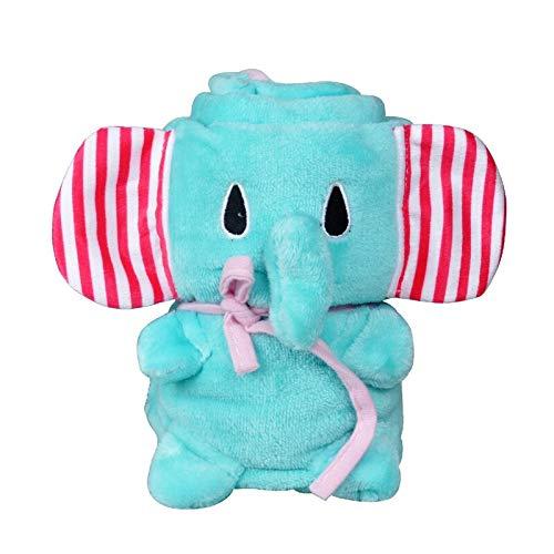 Best Quality Creative Cartoon Animal Coral Fleece Newborn Cotton Kids Blanket Super, Baby Bath Towels - Baby Animal, Animal Print, Octopus Fleece, Baby Towels, Baby Fleece Quilt, Orange Baby Blanket by Banette