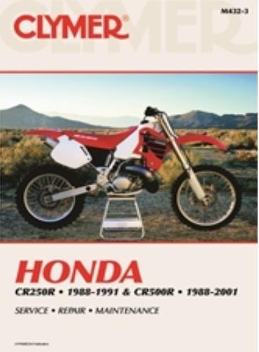 amazon com clymer repair manual for honda cr250r cr500r 88 01 rh amazon com 1999 honda cr250r owners manual 1999 honda cr250 owners manual